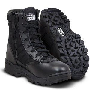 "SWAT Classic 9"" Side Zip Boots"