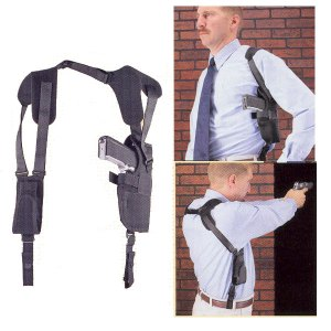Uncle Mike's Pro-Pack Vertical Shoulder Holster