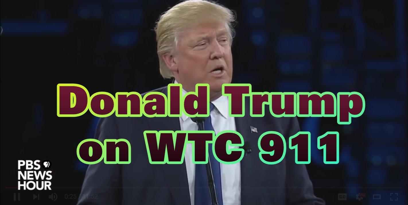 Donald Trump on WTC 911