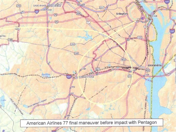 Peta Penerbangan 77