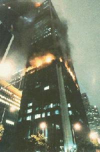 First Interstate Bank fire