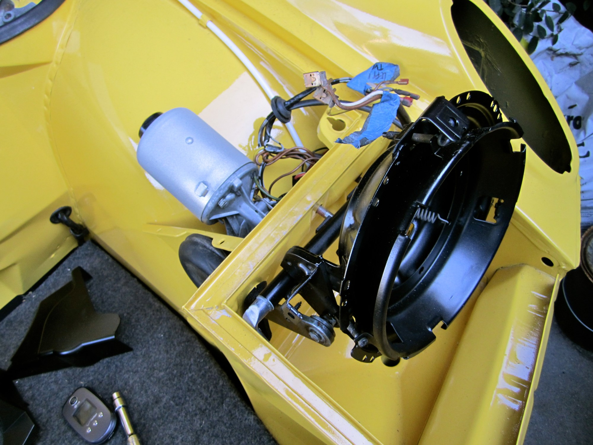 hight resolution of electric eyes electroclassic ev porsche 944 headlight motor porsche 944 headlight wiring