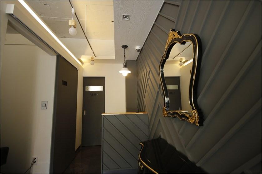 nailshop interior design