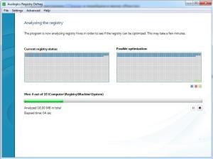 дефрагментации реестра. Оптимизация работы Windows 7