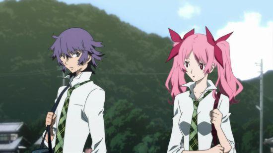 Natsuno et Megumi