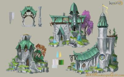 runescape elf concept expansion wiki end mmo plague wikia later gets years update wasn
