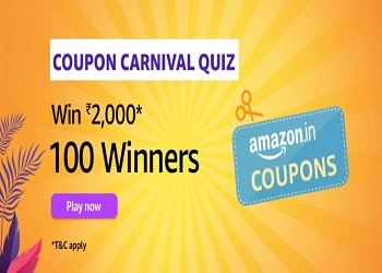 Amazon-Coupon-Carnival-Quiz-Answers