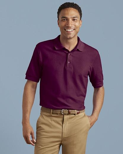 5d9e5b6c 82800 Gildan Premium Cotton Adult Double Piqué Sport Shirt