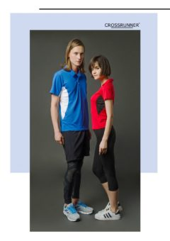 CRP 1100 — CROSSRUNNER VIBER POLO SHIRTS