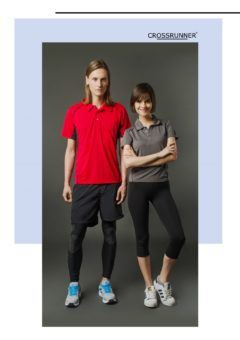 CRP 1300 — CROSSRUNNER DELTA POLO SHIRTS