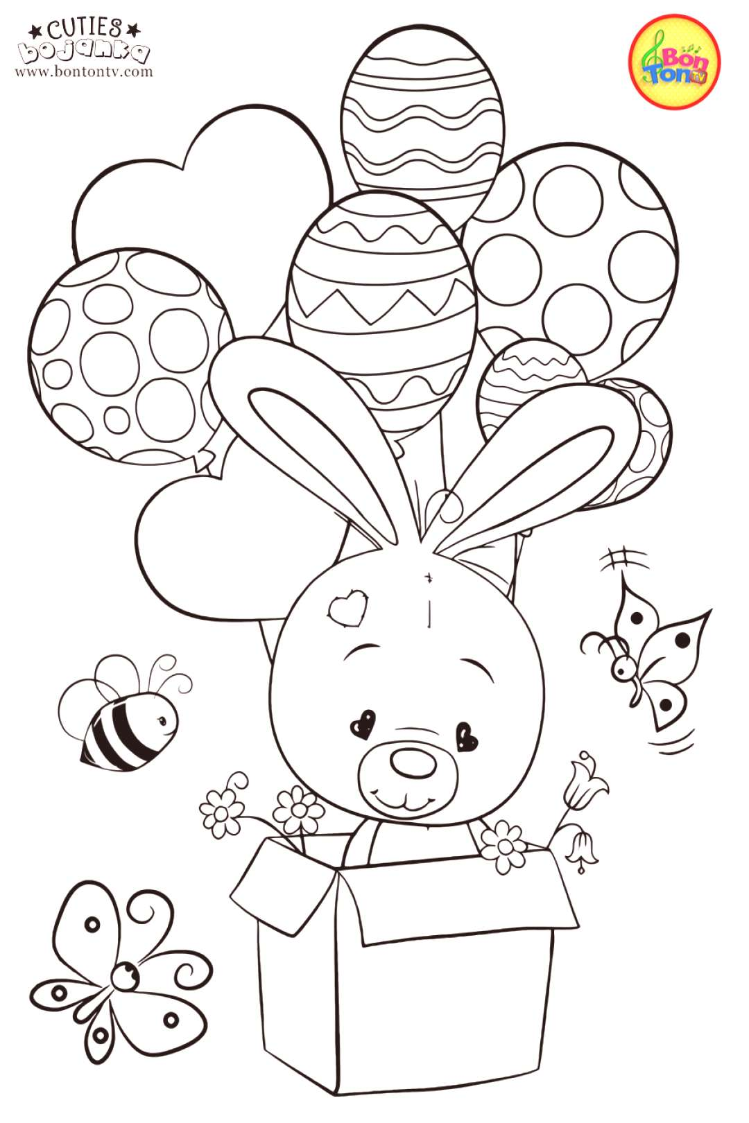 Cuties Coloring Pages : cuties, coloring, pages, Cuties, Coloring, Pages, Preschool, Printables, Books, Animal
