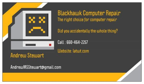 BLACKHAWK COMPUTER REPAIR MORE CLEAR 2
