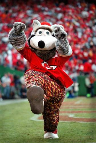 KANSAS CITY CHIEFS - KC WOLF