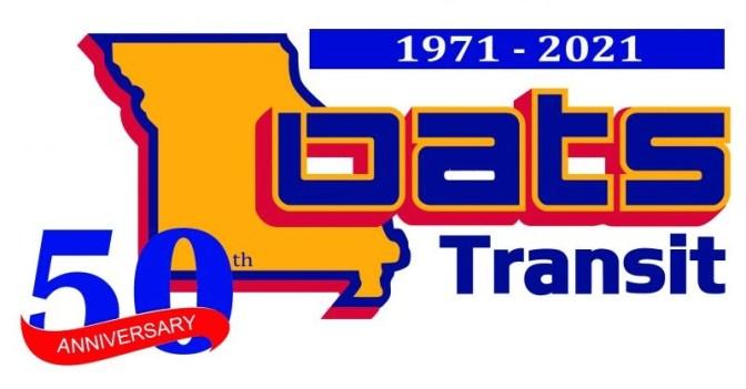 OATS Transit 50th Logo