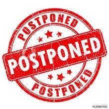 Postponed pic
