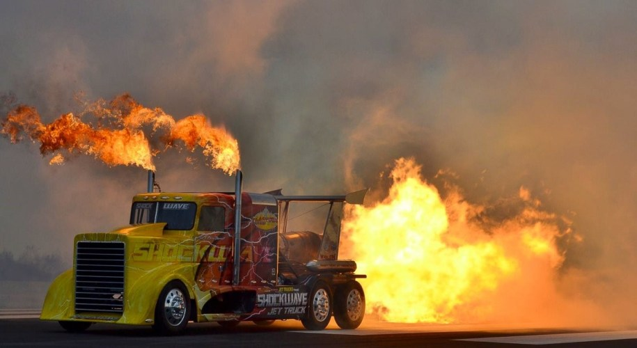 The Jet Truck