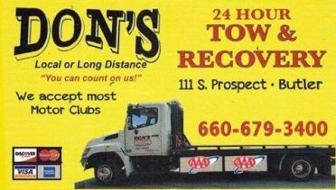 dons tow and recovery lost found animals