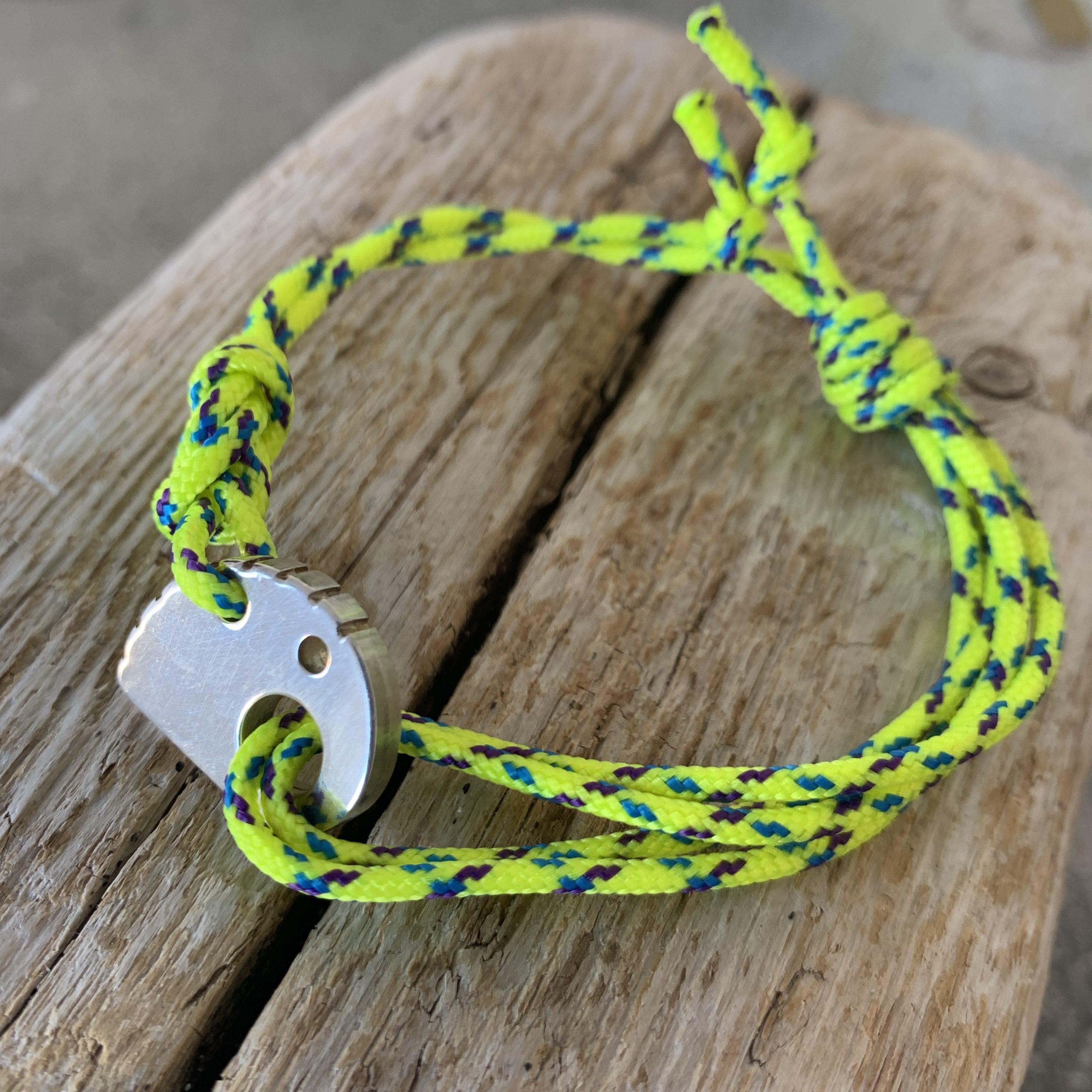 RockHard Bracelet Yellow Ropestring