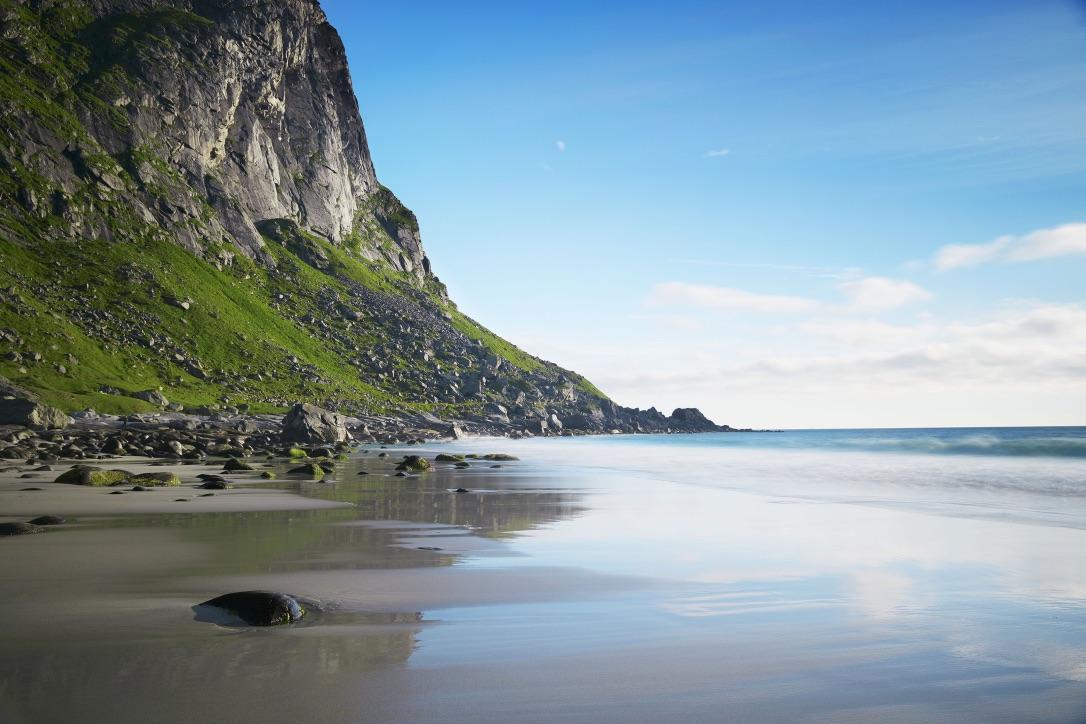 Picture of a Lofoten Shoreline