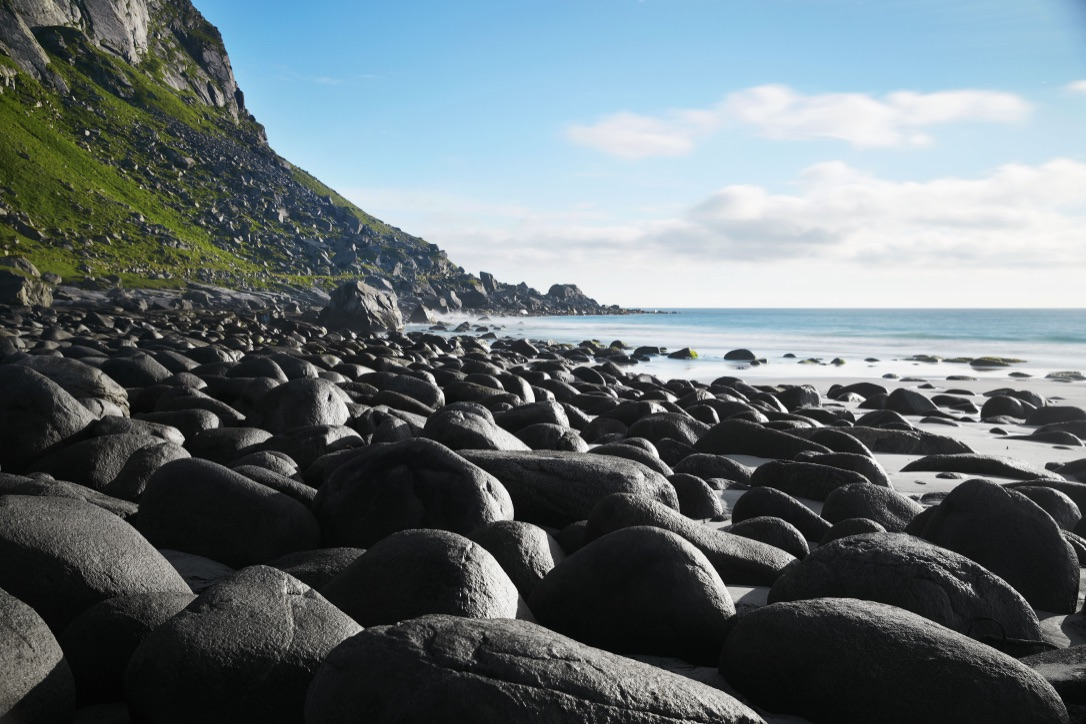Picture of Beach Boulders