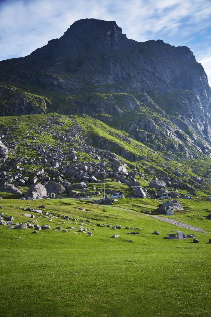 Picture of a Lofoten Mountain
