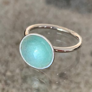 Dots Ring Glacier Turquoise