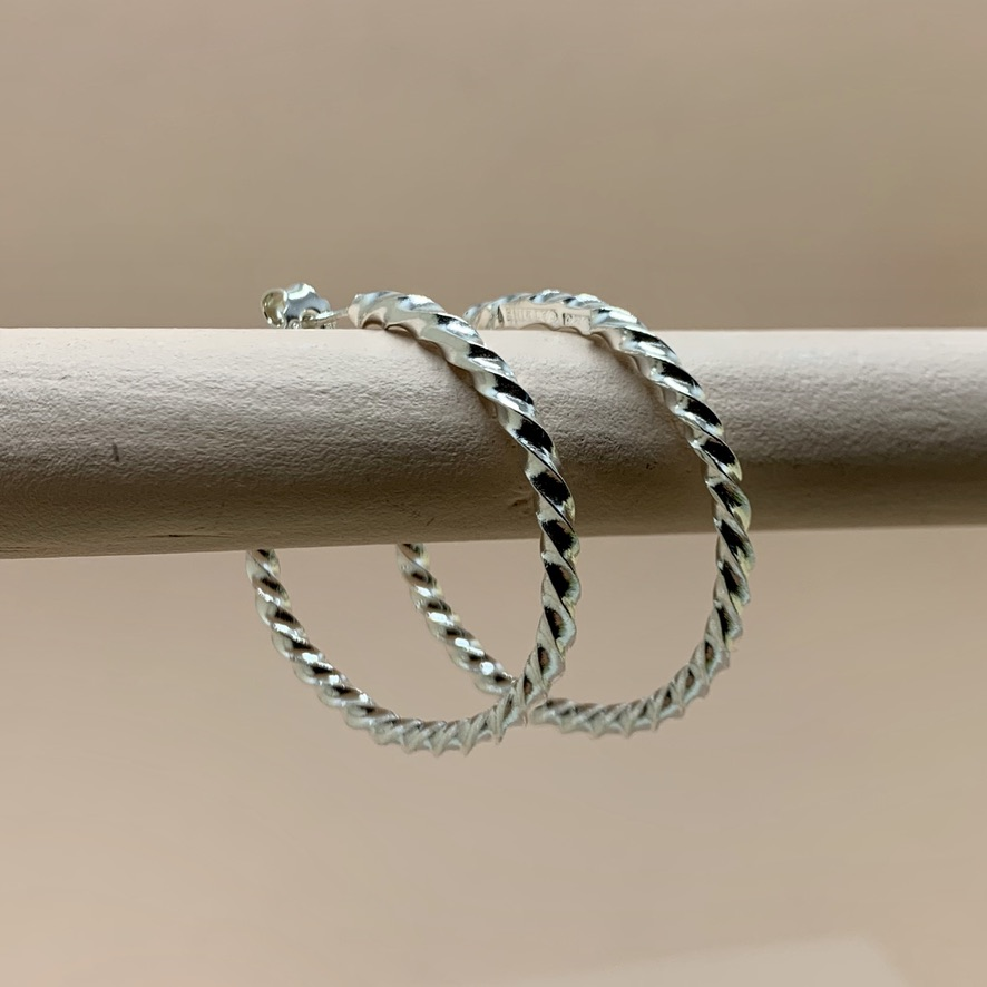 ICE Hoops Silver
