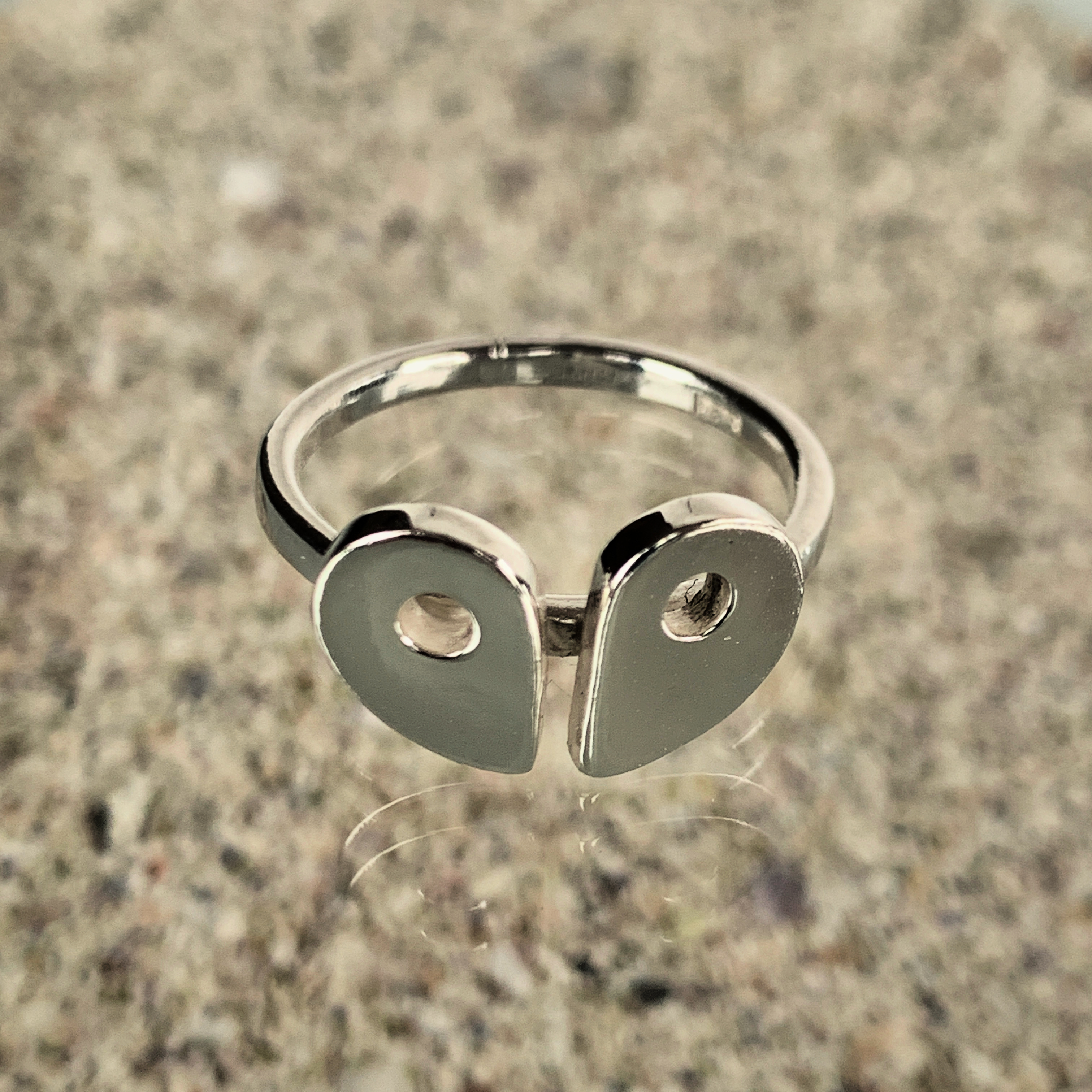 RockHard Twosome Ring