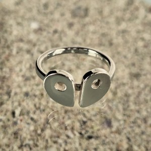 RockHard Twosome Ring