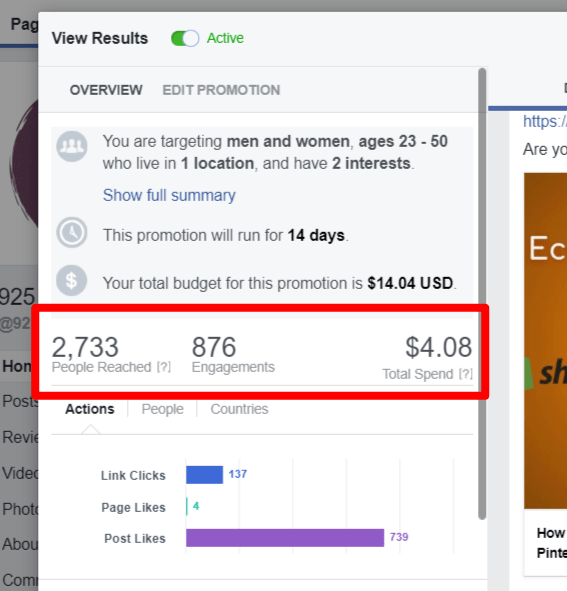 facebook ads promotion for affiliate marketing