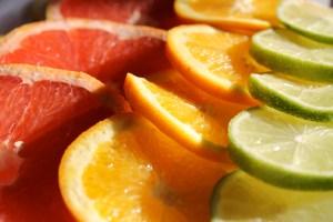 sliced fruit citrus colors