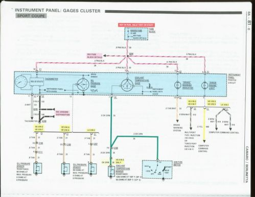 small resolution of 1986 f body wiring86 camaro alternator wiring diagram 6