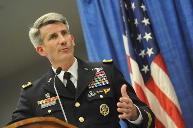 F John Campbell General Lieutenant