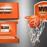 Snag A Job – Mini Basketball Mailer