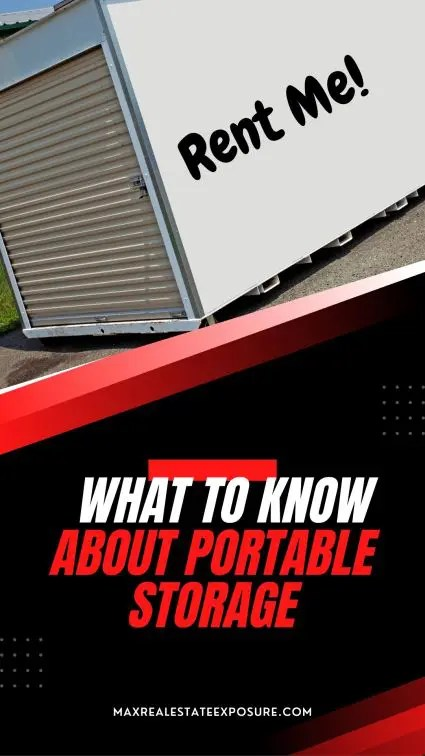 What to Know About Portable Storage