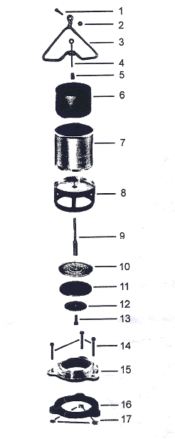 American Standard Curtin 3 Flush Valve & Replacement Parts