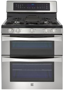 Kenmore Elite Double Oven Gas Range