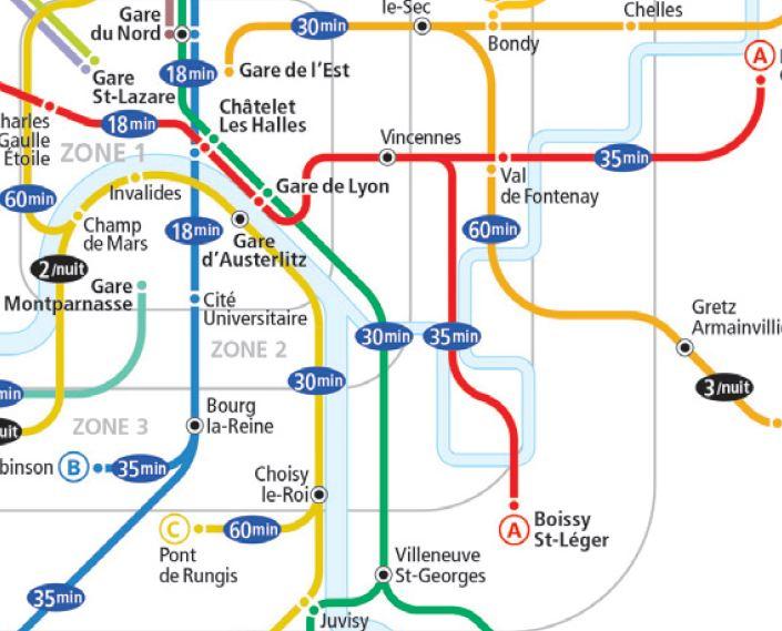 Fte De La Musique 2013 Mtro RER Et Bus De Nuit Dans L
