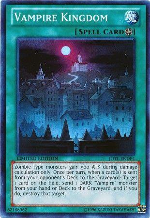 Vampire Kingdom  JOTLENDE4  Super Rare  YuGiOh