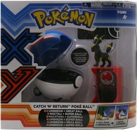 Umbreon Amp Great Ball Catch N Return Poke Ball Toy