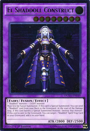 Ultimate Rare  El Shaddoll Construct  DUEAEN049 1st