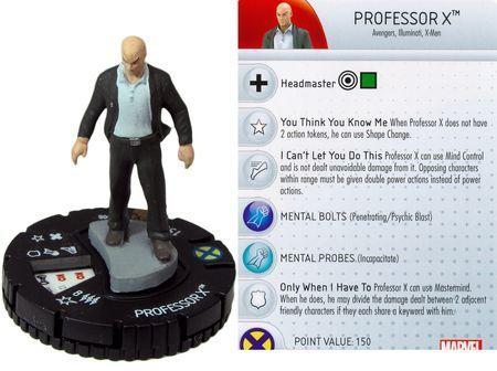 Professor X 008 Avengers Vs X Men Op Kit Marvel Heroclix