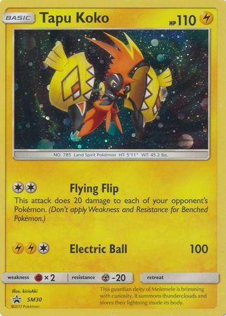 Tapu Koko SM30 Promo Pokemon Sun Amp Moon Promos Pokemon