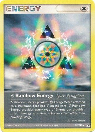 Delta Species Rainbow Energy  98110  Uncommon  Ex