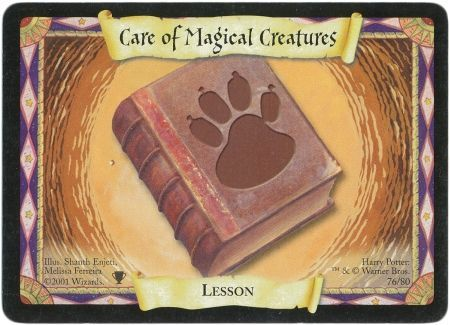 Care of Magical Creatures  76  Lesson  Harry Potter