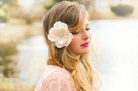 Ivory Bridal Flower, Ivory Wedding Flower, Ivory Magnolia