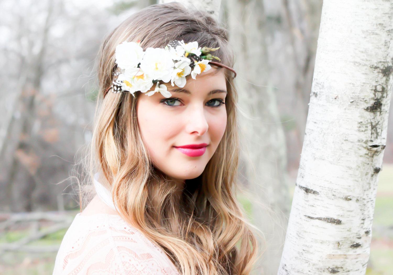 Wedding Hair Accessories White Bridal Hairpiece Wedding