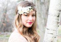 Wedding Hair Accessories, White Bridal Hairpiece, Wedding