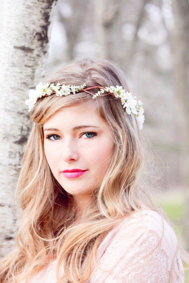 morning mist - bridal hair acessories, wedding headpiece, woodland flower, bridal hair flower, rustic wedding, bridal headband