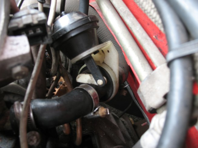 Where Does The Vacuum Hose On The Heater Control Valve Connect